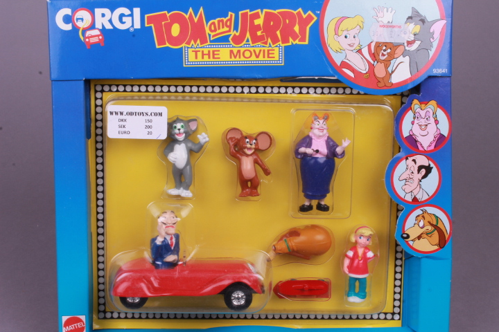 *Corgi 93641 Tom & Jerry The Movie Gift Set